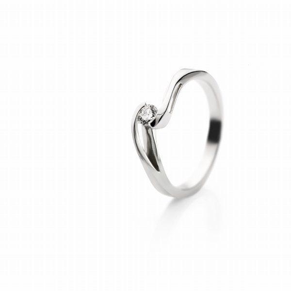 Zaročni prstan – 015 – 0.15ct