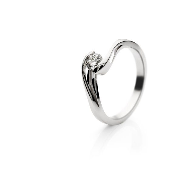 Zaročni prstan – 015 – 0.30ct