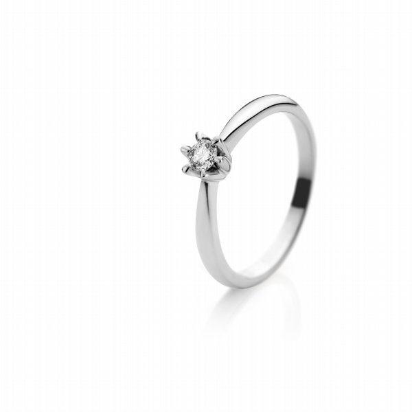 Zaročni prstan – 018 – 0.10ct