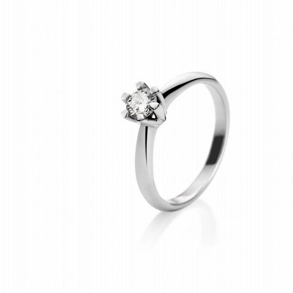 Zaročni prstan – 018 – 0.30ct