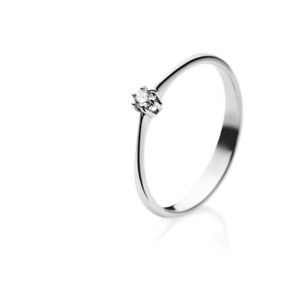 Zaročni prstan – 022 – 0.05ct