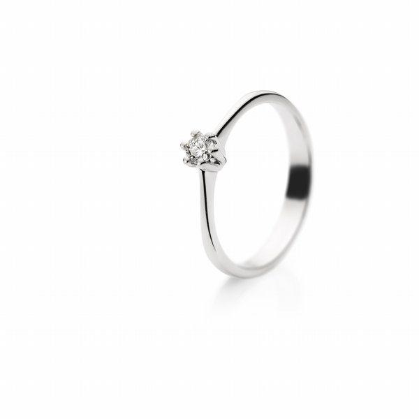 Zaročni prstan – 022 – 0.10ct