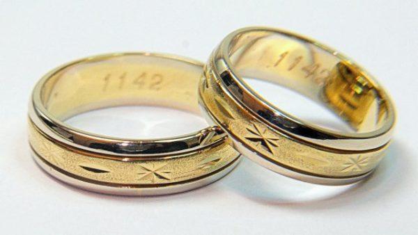 Poročni prstani – 1142